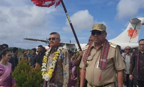Olly Dondokambey Dampingi Ketua MA Resmikan 85 Kantor Pengadilan se-Indonesia