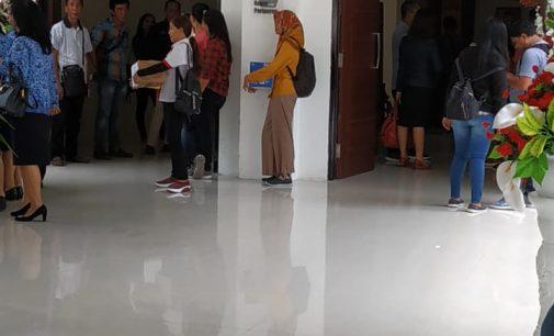 Wartawan Pos DPRD Sulut Ikut Galang Dana