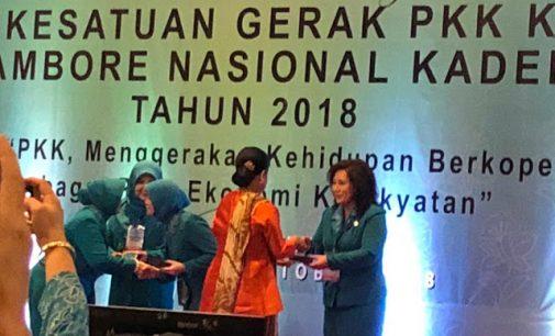Dibuka Presiden Joko Widodo, Rita Tamuntuan dan Kartika Tanos Hadiri HKG ke 46 di Jakarta