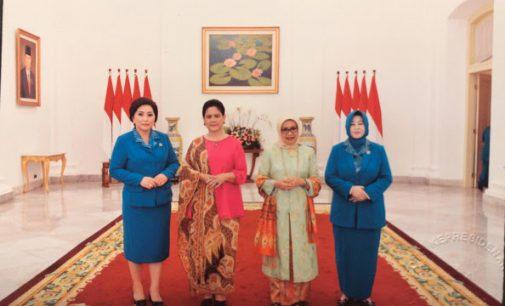 Rita Dondokambey Bersilaturahmi dan Makan Malam bersama Ibu Negara