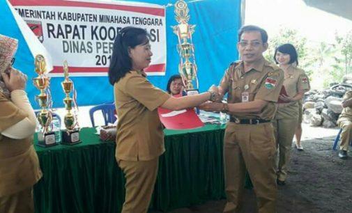 Dinas Pertanian Mitra Berikan Penghargaan BPP Terbaik