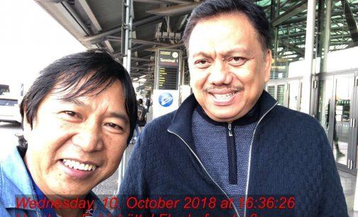 Olly Dondokambey Restui James Sumendap Maju di Manado