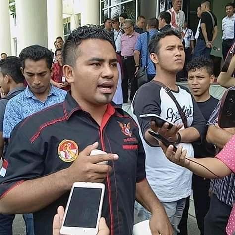 Btayen Lajame menjelaskan kepada wartawan