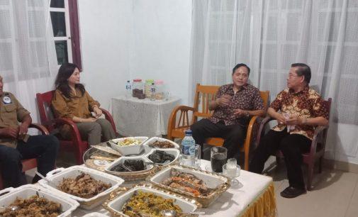 Eksis Jalin Hubungan Baik, Wakil Panglima Panji Josua Eddyson Masengi Bertemu Uskup Manado