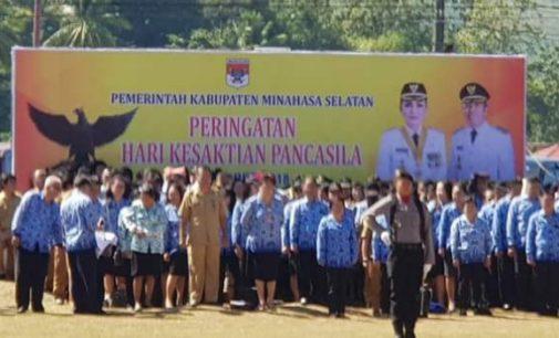 Begini Sambutan Presiden di Peringatan Hari Kesaktian Pancasila Minsel
