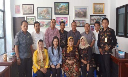 Terkait Tatib, DPRD Majene Konsultasi di DPRD Manado