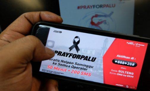 Telkomsel Gratiskan Telpon dan SMS di Wilayah Bencana Palu dan Donggala