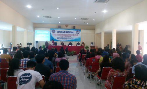 FH Unsrat Gelar Seminar Nasional, Ketua Panitia Sebut Anak Merupakan Aset Bangsa