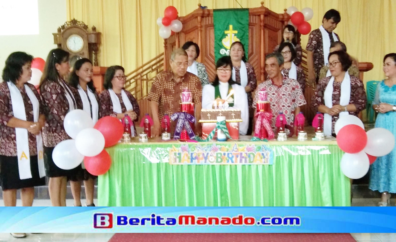 HUT ke-138 Jemaat GMIM Pniel Sulu