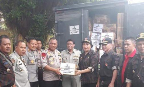 KBPP-Polri Sulut Salurkan Bantuan Bagi Warga Palu