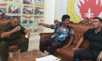 Jelang Porkab Minsel, James Kojongian Pantau Hari Pertama Pendaftaran Kecamatan