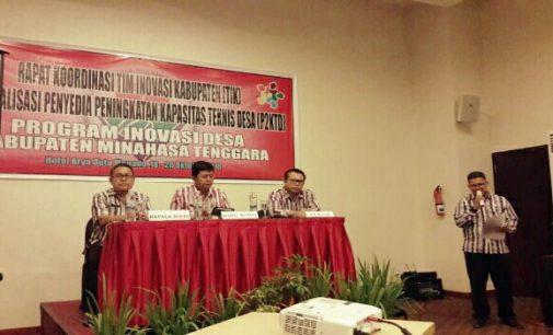Wabup Jocke Legi: SKPD Wajib Dukung Program Inovasi Desa