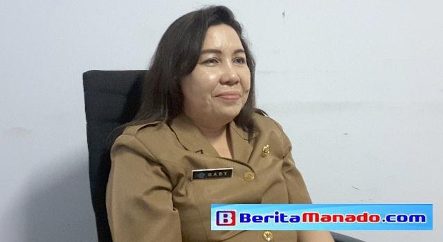 Kabag Perekonomian dan SDA Pemkab Minut Gaby Musiran.