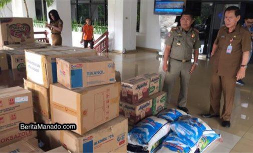 Posko Bantuan Korban Bencana Palu dan Donggala Pemkot Manado, Terbuka Untuk Umum