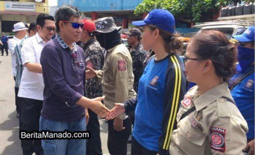 Dilepas Walikota, Tim Kemanusian Pemkot Manado Siap Mengemban Tugas Mulia