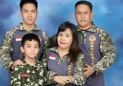 James Vandersloot dan keluarga