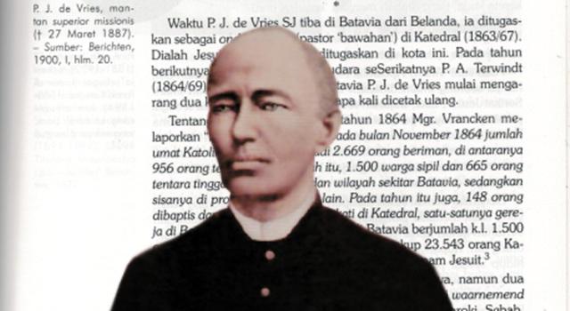 Pater Johanis de Vreis SJ