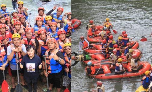Mengenang Frangky 'Kengkang' Kowaas, Pecinta Alam Sulut Gelar Fun Rafting