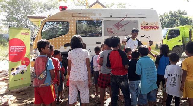 Mobil Klinik Indosat Ooredoo