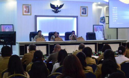 Wali Kota Bitung Pimpin Kegiatan Presentasi SAKIP, Ini yang Disampaikan