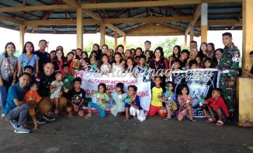Alfamidi Manado dan GPJO Sukses Jadi Guru Sehari, Komunitas Dinding Berikan Pengalaman Baru