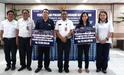 625 Juta Dana Pinjaman Kemitraan Tahap II Disalurkan Bandara Sam Ratulangi