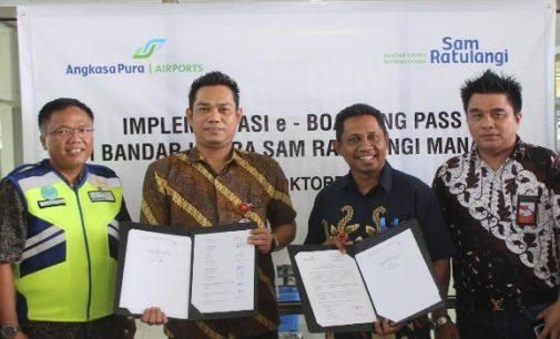 Layanan e-Boarding Pass Kini Dapat Dinikmati Calon Penumpang di Bandara Sam Ratulangi, Ini Informasinya