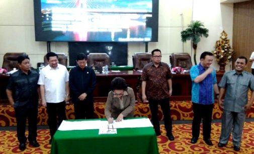 DPRD Manado Gelar Paripurna, Revisi Propemperda Ditandatangani