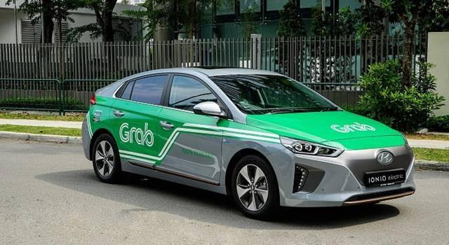100% electric Hyundai Ioniq car