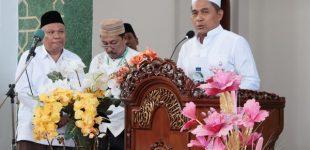 Peringati Maulid Nabi, Wakapolda Sulut Sampaikan Ini di Mesjid Raya Ahmad Yani