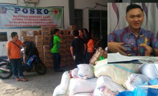 Bantuan Kembali Menumpuk, BPBD Bitung Jadwalkan Pengiriman ke Sulteng