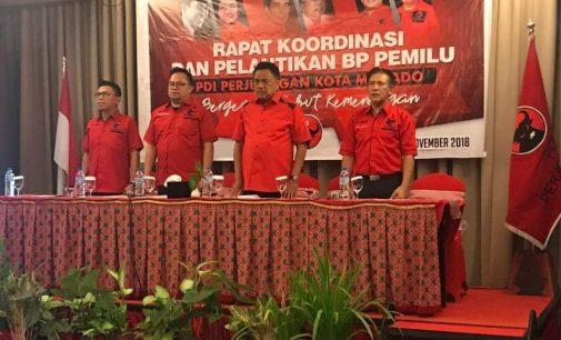 Wow, PDIP Target 11 Kursi DPRD Manado