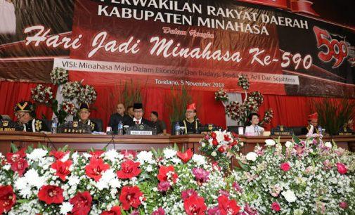Steven Kandouw: Minahasa harus jadi Contoh bagi Kabupaten dan Kota Lain