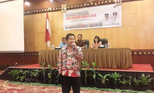 Pameran Kain Daerah di Mantos 26-30 November 2018
