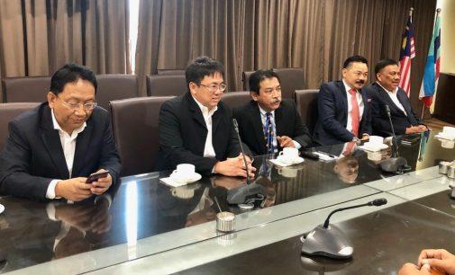 Andrei Angouw Dampingi Olly Dondokambey Bertemu Menteri Malaysia di Sabah