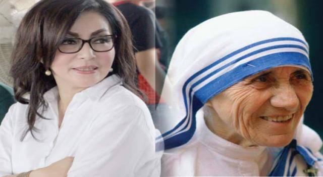 Tetty Paruntu dan Bunda Teresa