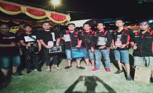 Tim Sesat Minut Sabet Juara Umum Battle Sound System Gorontalo