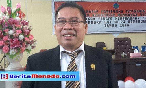 Edwin Nelwan Minta Pembahasan APBD Libatkan Kejaksaan dan Kepolisian