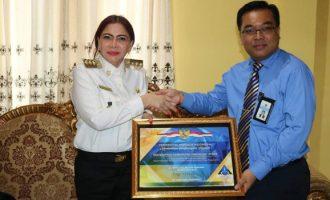 Pemkab Minut Raih Penghargaan Kementerian Keuangan