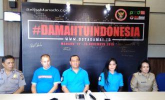 BNPT Rekrut Anak Muda Sulut Jaga Dunia Maya Dari Propaganda Terorisme