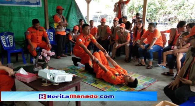 Pelatihan Relawan Destana di Desa Wuwuk Barat