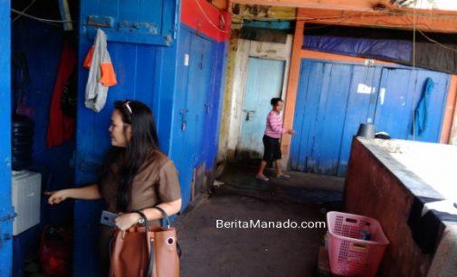 Komisi B DPRD Manado Sidak Kios Pasar Bersehati yang Dijadikan Tempat Tinggal