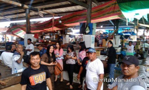 Turlap di Pasar Bersehati, Komisi B DPRD Manado Terima Sejumlah Keluhan Pedagang