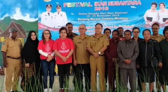 Festival Ikan Nusantara 2018 di Benteng Moraya Tondano