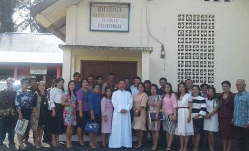 Sejarah Gereja Katolik Stasi St. Vincentius Noongan Berawal Dari Seorang Bayi