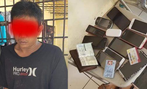Polisi Gadungan Gasak HP Pasien dan Pengunjung di RSUD Bitung