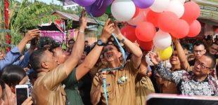 Royke Roring Hadiri HUT Ke-33 Desa Tambala
