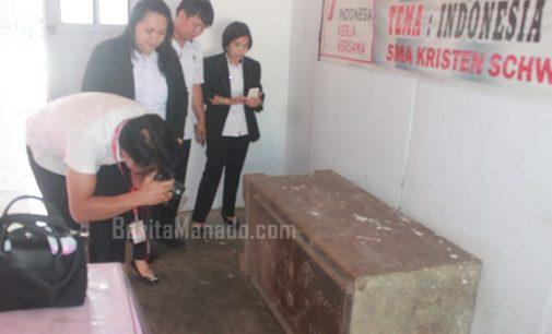Disbudpar Minahasa Tinjau Brankas Berusia Ratusan Tahun di Langowan