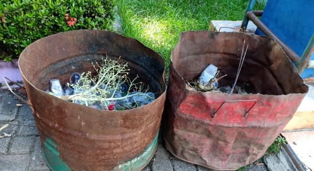 Tong sampah di Kota Bitung