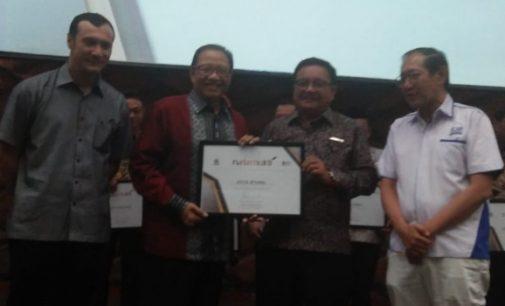 Bitung Terima Penghargaan Natamukti 2018
